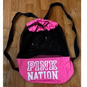 Victoria's Secret PINK Backpack Bookbag Shoulder